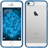 Silicone Case for Apple iPhone SE Slim Fit blue