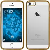 Silicone Case for Apple iPhone SE Slim Fit gold
