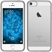 Silicone Case for Apple iPhone SE Slim Fit silver