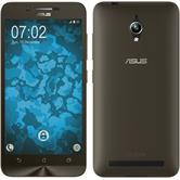 Silicone Case for Asus Zenfone Go (ZC500TG) 360° Fullbody gold