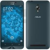 Silicone Case for Asus Zenfone Go (ZC500TG) 360° Fullbody light blue