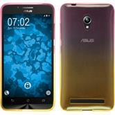 Silicone Case for Asus Zenfone Go (ZC500TG) Ombrè Design:01
