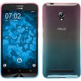 Silicone Case for Asus Zenfone Go (ZC500TG) Ombrè Design:06