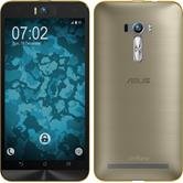 Silicone Case for Asus Zenfone Selfie 360° Fullbody gold