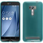 Silicone Case for Asus Zenfone Selfie transparent turquoise