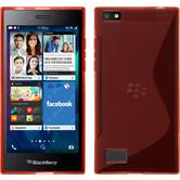 Silicone Case for BlackBerry Leap S-Style red