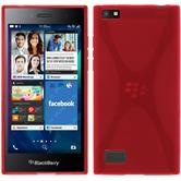 Silicone Case for BlackBerry Leap X-Style red