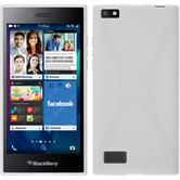 Silicone Case for BlackBerry Leap X-Style white