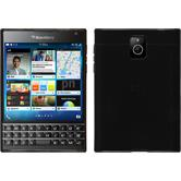 Silicone Case for BlackBerry Q30 transparent black