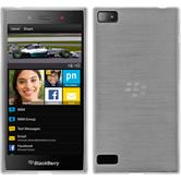 Silicone Case for BlackBerry Z3 brushed white