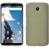 Silicone Case for Google Motorola Nexus 6 brushed gold