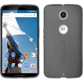 Silicone Case for Google Motorola Nexus 6 X-Style gray