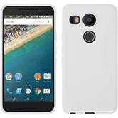 Silicone Case for Google Nexus 5X S-Style white