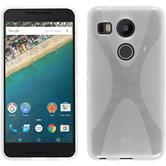 Silicone Case for Google Nexus 5X X-Style transparent