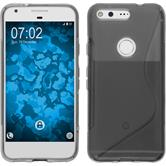 Silicone Case for Google Pixel S-Style gray