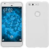 Silicone Case for Google Pixel S-Style white