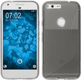 Silicone Case for Google Pixel XL S-Style gray