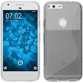 Silicone Case for Google Pixel XL S-Style transparent