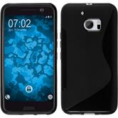 Silicone Case for HTC 10 S-Style black