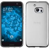 Silicone Case for HTC 10 Slim Fit silver