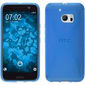 Silicone Case for HTC 10 X-Style blue