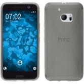 Silicone Case for HTC 10 X-Style gray