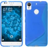 Silicone Case Desire 10 Lifestyle S-Style blue