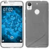 Silicone Case Desire 10 Lifestyle S-Style gray