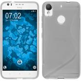 Silicone Case Desire 10 Lifestyle S-Style transparent