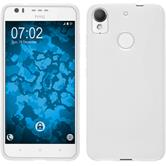 Silicone Case Desire 10 Lifestyle S-Style white