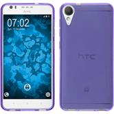 Silicone Case Desire 10 Lifestyle transparent purple