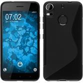 Silicone Case Desire 10 Pro S-Style black