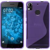 Silicone Case Desire 10 Pro S-Style purple