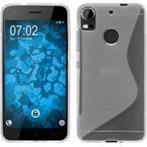 Silicone Case Desire 10 Pro S-Style transparent