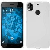 Silicone Case Desire 10 Pro S-Style white