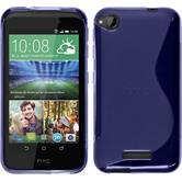 Silicone Case for HTC Desire 320 S-Style purple