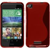Silicone Case for HTC Desire 320 S-Style red