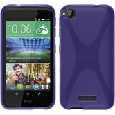 Silicone Case for HTC Desire 320 X-Style purple