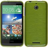 Silicone Case for HTC Desire 510 brushed pastel green