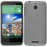 Silicone Case for HTC Desire 510 brushed white