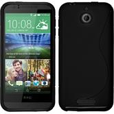 Silicone Case for HTC Desire 510 S-Style black