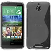 Silicone Case for HTC Desire 510 S-Style transparent