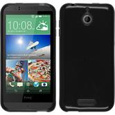 Silicone Case for HTC Desire 510 transparent black
