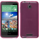 Silicone Case for HTC Desire 510 transparent pink