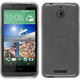 Silicone Case for HTC Desire 510 transparent white