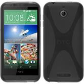 Silicone Case for HTC Desire 510 X-Style gray