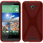 Silicone Case for HTC Desire 510 X-Style red