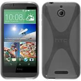 Silicone Case for HTC Desire 510 X-Style transparent