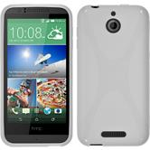 Silicone Case for HTC Desire 510 X-Style white