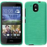 Silicone Case for HTC Desire 526G+ brushed green
